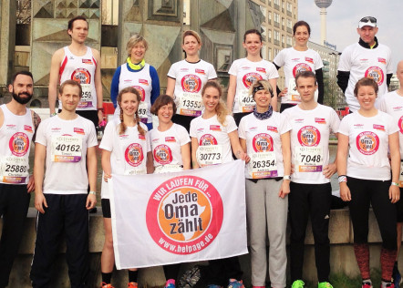 Läufer des Berliner Halbmarathons