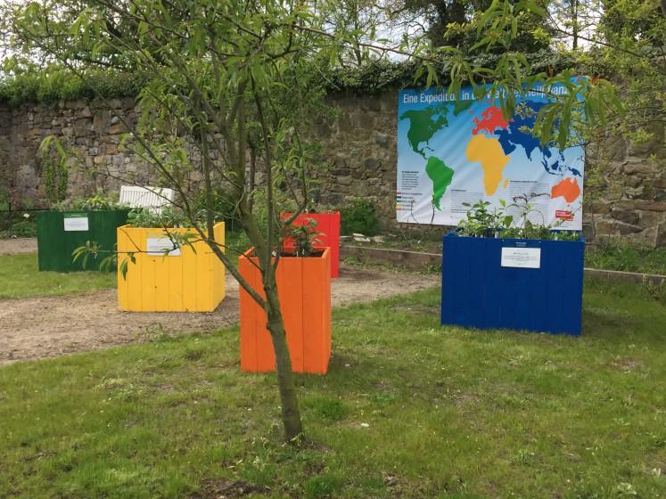 Die HelpAge Ausstellung auf Schloss Ippenburg