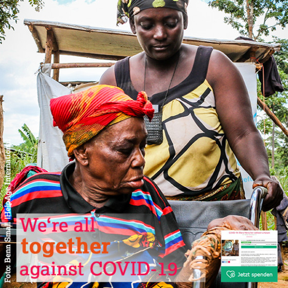 We are all together against COVID-19