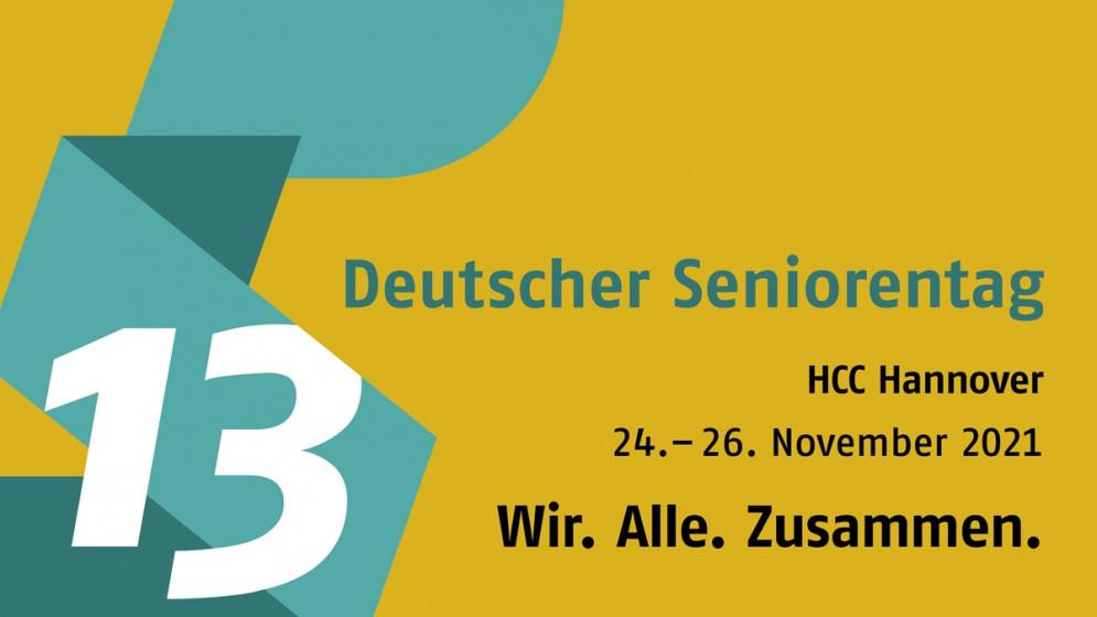 Logo des 13. Deutschen Seniorentags 2021 in Hannover