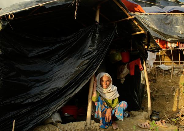 Flüchtlingslager in Rohingya