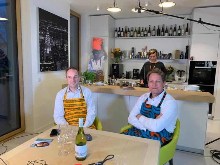 Die Initiatoren Karsten Wulf & Gunnar Sander erwarten die Gäste