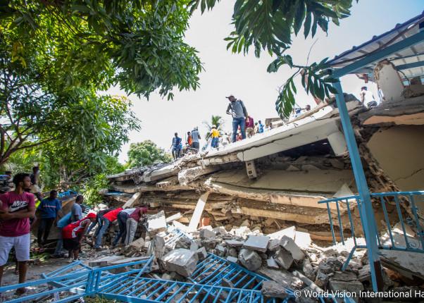 Nach dem Erdbeben auf Haiti im August 2021
