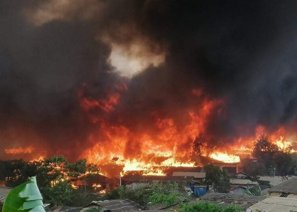 Feuer Cox Bazar