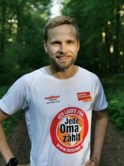 Oma-Läufer Florian Siebelmann