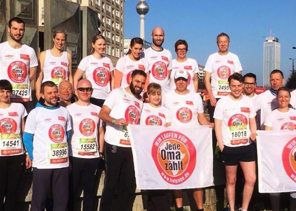 Berliner Halbmarathon 2018 - Gruppenfoto