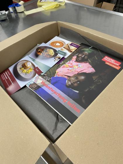 Gourmet-Box wird von der Firma Achenbach verpackt