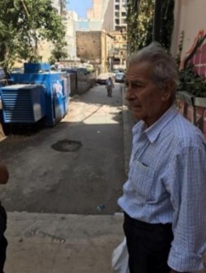 Kamal, 80 Jahre, mutlos in Beirut