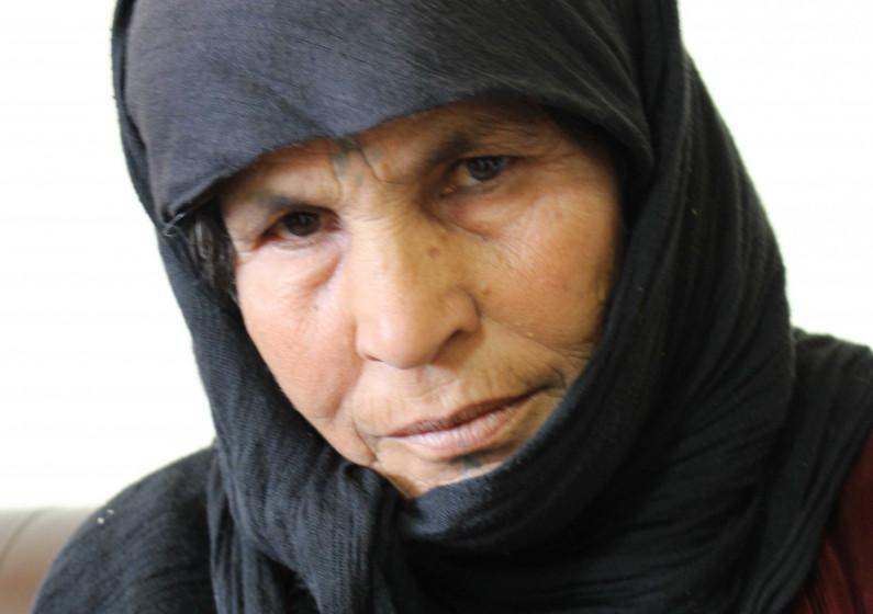 Portraitbild von Khalifa aus Rakka