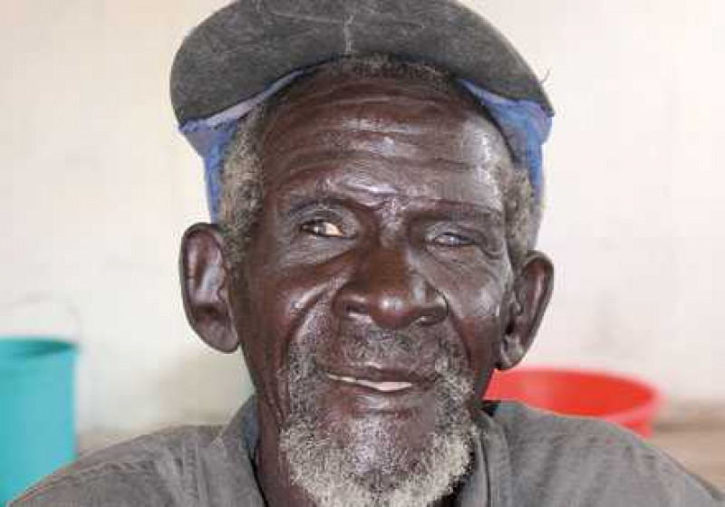 Portraitbild von Khor aus dem Südsudan
