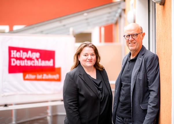 Wechsel der Geschäftsführung bei HelpAge Deutschland