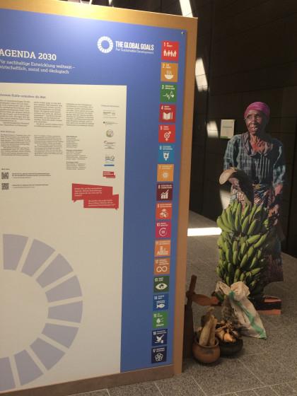 Ausstellungswand Agenda 2030