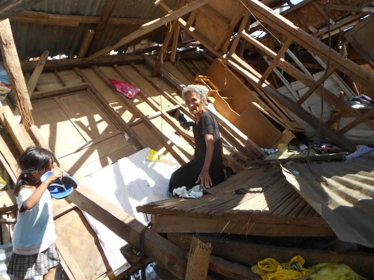 Zerstörung Taifun Mangkhut