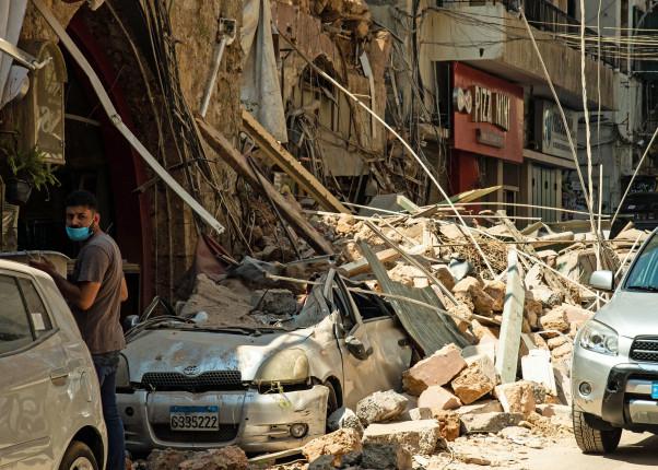 Helfer in Beirut_WV_Libanon